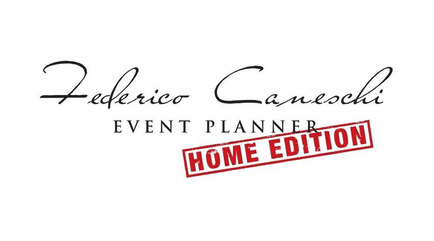 Federico Caneschi Event Planner HOME EDITION